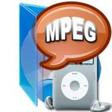 MPEG to iPod Converter, Convert MPEG to iPod Video, MPEG to iPod Touch / Nano / Classic