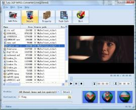 3GP MPEG Converter - Convert 3GP to MPEG, Convert MPEG to 3GP